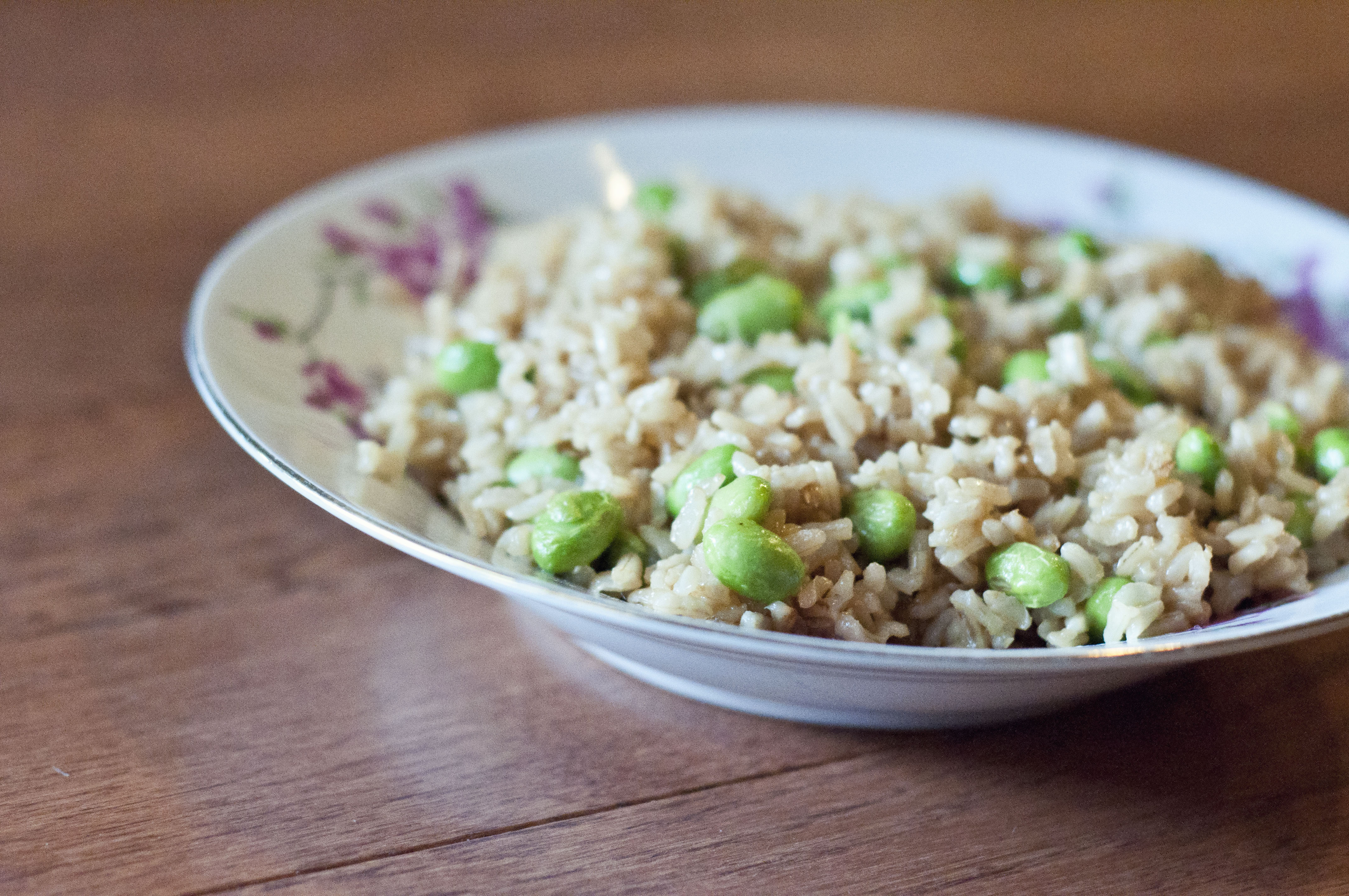 national soy foods month, april, edamame, asian cuisine, easy fried rice recipe, edamame fried rice recipe, edamame recipe, easy edamame recipe, edamame, cooking, food,
